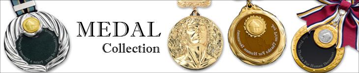 表彰メダル、記念品にも大人気
